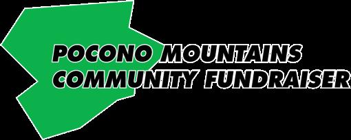 Pocono Mountains Community Fundraiser Logo