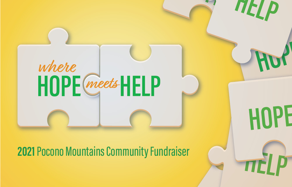 Where Hope Meets Help 2021 Pocono Mountain Community Fundraiser